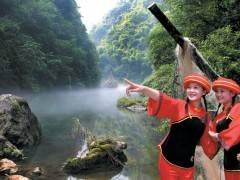宜昌旅游首选三峡人家境区、三峡人家一日跟团游