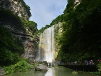 宜昌三峽大瀑布+三游洞一日游(坐船游覽長江三峽.西陵峽)