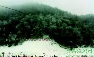 神农架滑雪与游轮滑雪一个静美一个刺激