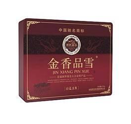 萧氏茶 金香品雪(论道至尊) 铁方盒 3g×72袋