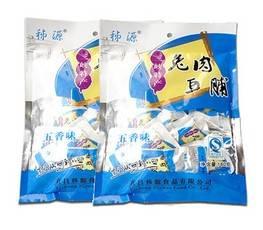 休闲零食秭归山珍兔肉豆脯干特色小吃五香味独立包装180g