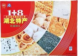 湖北特产神龙牌麻糖 1+8孝感麻糖+港饼+苕酥+麻烘糕