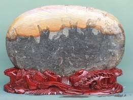 三峡石 清江奇石 八仙过海(三峡画面石)