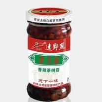 香辣茶树菇酱 远野风 下饭美食 195g