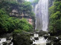 三峡晓峰风景区三峡大瀑布(白果树瀑布)半日游