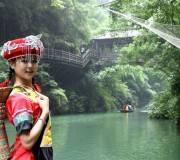 船进三峡人家一日游,船游长江三峡西陵峡—宜昌东站可接
