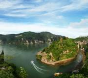 宜昌蹦极线路 西陵峡口风景区长江三峡起始点全景一日游
