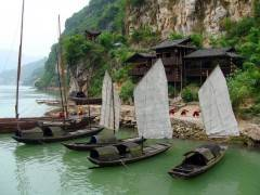 <车去车回>宜昌到三峡大瀑布、三峡人家、两坝一峡三日游