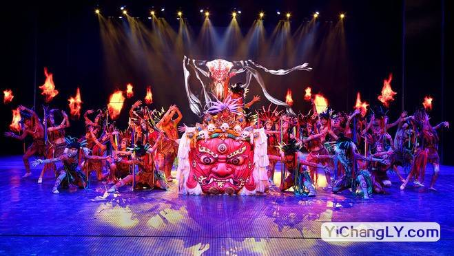 成都藏羌风情歌舞晚会