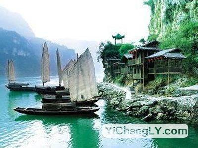 <船去船回>宜昌两坝一峡,三峡人家一日游