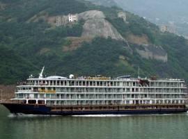 从宜昌到重庆豪华游轮 凯蒂号三峡游轮 长江三峡五日游