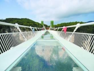 张家界大峡谷【玻璃桥】溪布街、百丈峡汽车两日游(保证上桥)