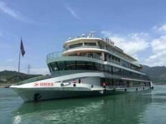 強烈推薦!!!【兩壩一峽】一日游,乘長江最豪華游船過葛洲壩船