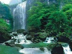 三峡大瀑布、金狮洞、情人泉一日游