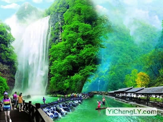 三峡大瀑布上榜中国十大著名瀑布