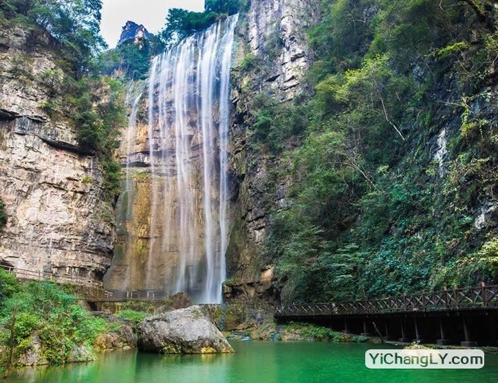三峡大瀑布游记