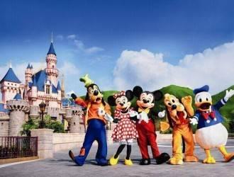 迪士尼中华恐龙园 双乐园亲子双飞6日游线路