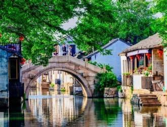 周庄、乌镇、西塘三大水乡双动5日游 宜昌到华东五市旅游线路