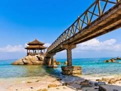 海口、三亚蜈支洲岛双飞6日游线路--宜昌到海南旅游多少钱