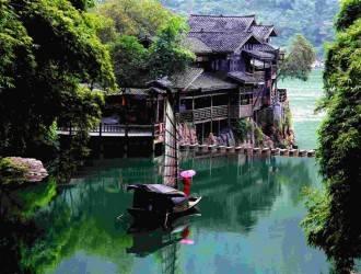 宜昌三峽人家三峽大壩全景二日游