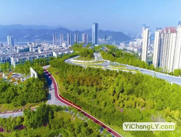 宜昌城东公园生态停车场投入使用