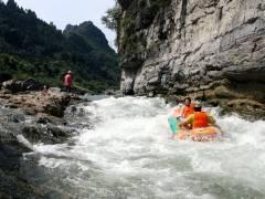 宜昌出发九畹溪漂流激情一日游