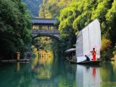【赏巴楚原始风光】宜昌三峡人家跟团一日游