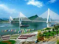 豪华游轮过葛洲坝船闸(宜昌长江三峡半日游)