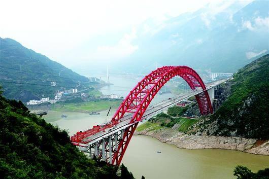 秭归长江大桥