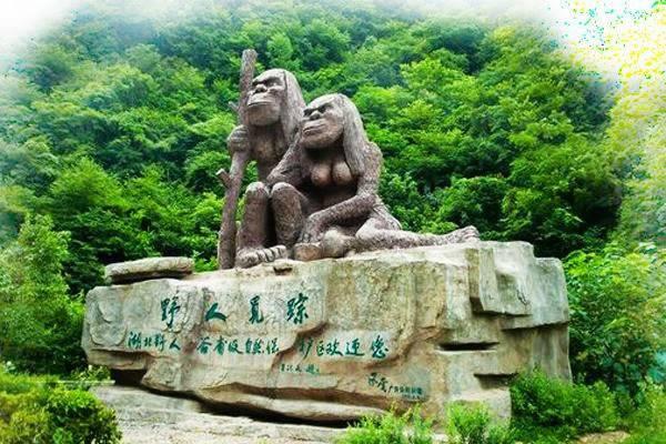神农架野人雕像