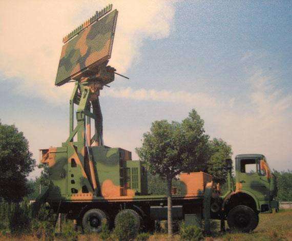 图文:国产VLC-18高机动中程低空三坐标雷达