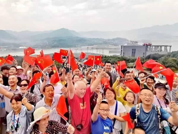 三峡大坝旅游区游客