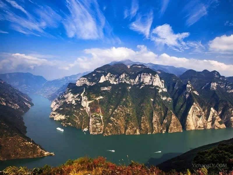 巴东三峡巫峡