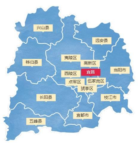 宜昌行政区划
