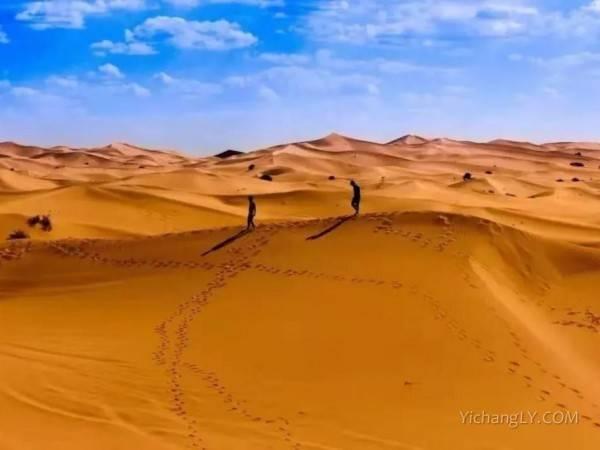 宜昌到腾格里大漠三湖穿越,徒步66公里,3晚4天深度游