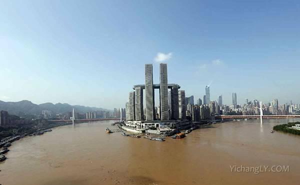 洪水过境重庆主城3