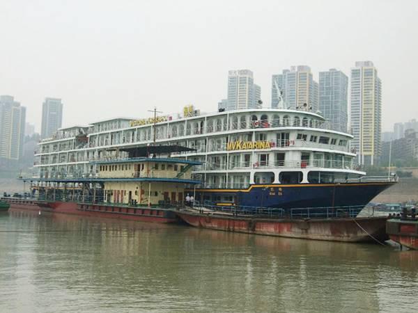 【美维凯蒂号游轮】美国维多利亚系列游船下行重庆到宜昌单程四日游
