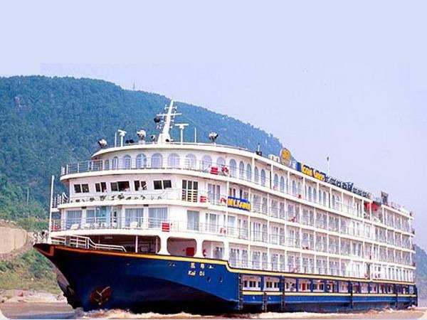 【美维凯莎号游轮】美国维多利亚系列游船上行宜昌到重庆单程五日游