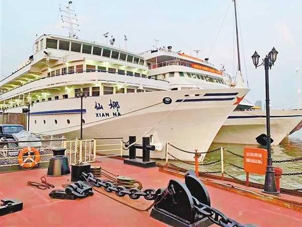 【皇家公主仙娜号游轮】皇家公主系列游船上行宜昌到重庆单程五日游
