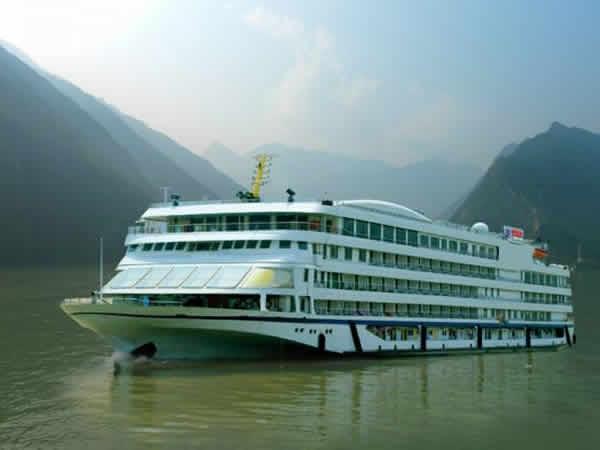 【皇家星光号豪华游船】皇家公主系列游轮上行宜昌到重庆单程五日游