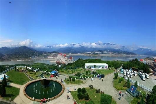 三峡大坝坛子岭