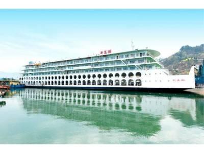 阳光下的长江三峡 宜昌到重庆坐船票预订 观三峡二日游船票