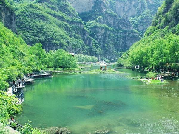 河南焦作青天河景区