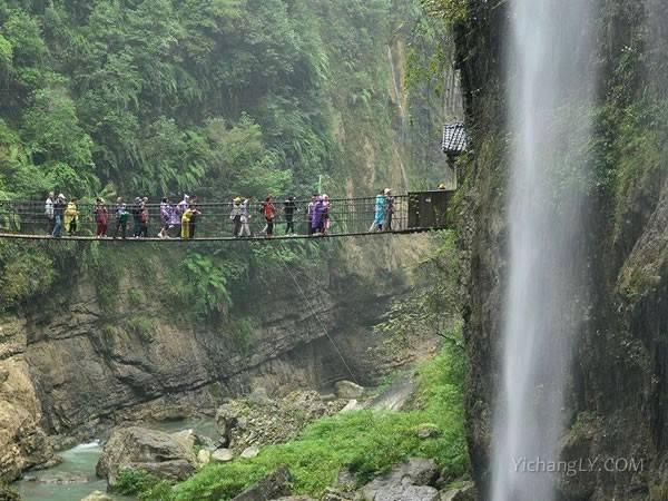 恩施清江大峡谷图片欣赏