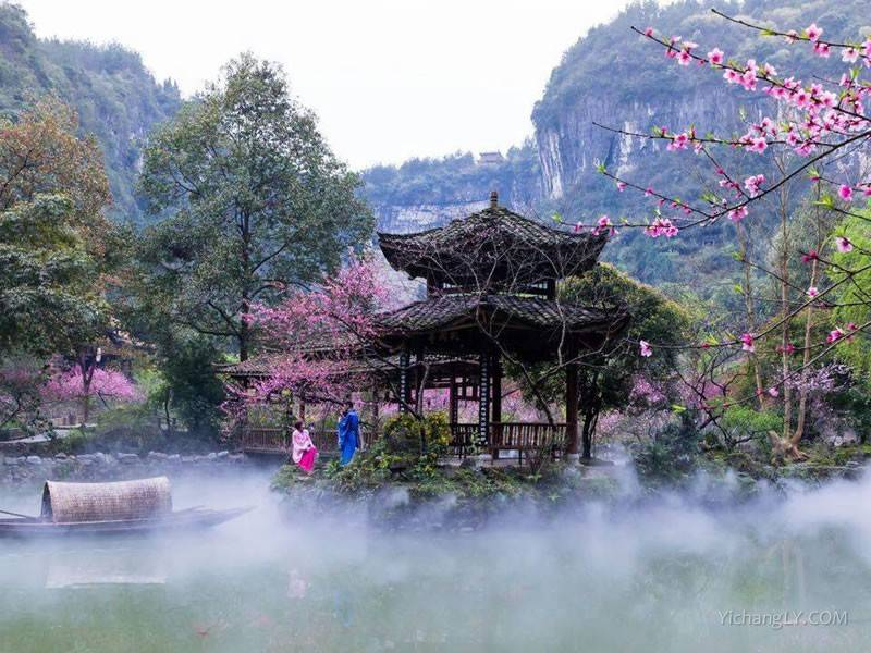 重庆酉阳桃花源景区图片