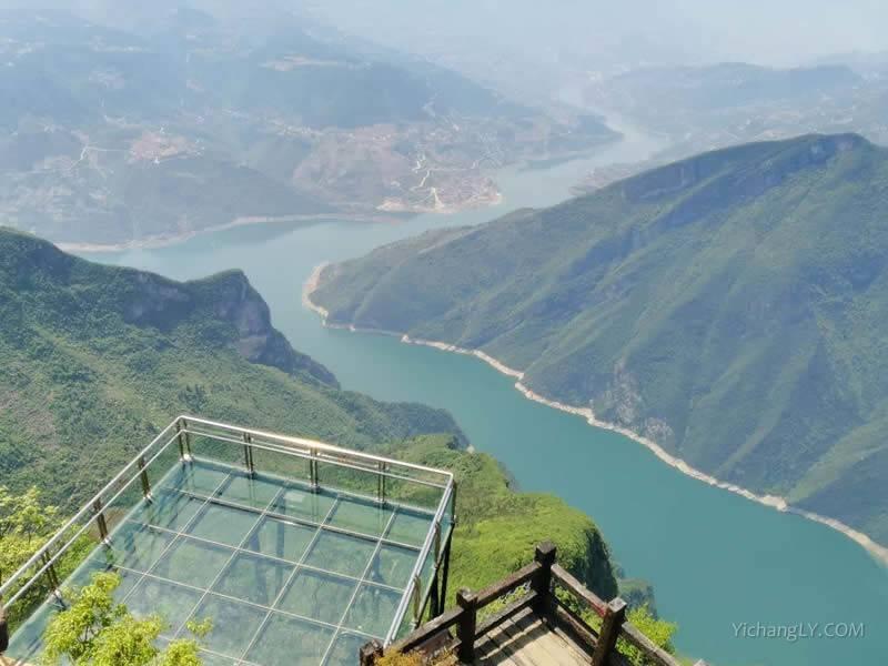 重庆奉节三峡之巅图片