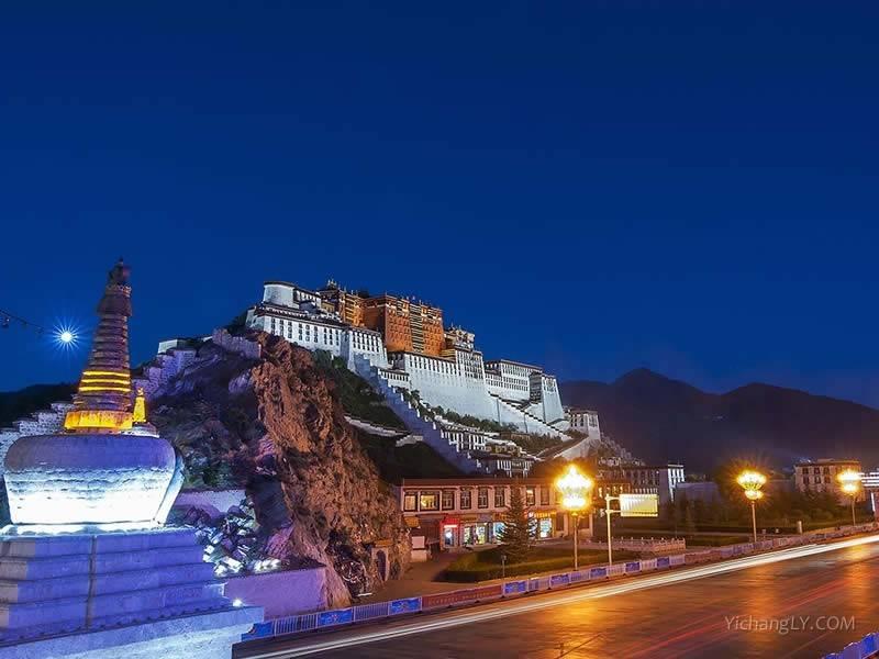 西藏拉萨布达拉宫图片高清大图