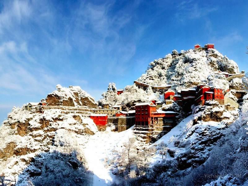 湖北十堰武当山图片高清风景全景图大全