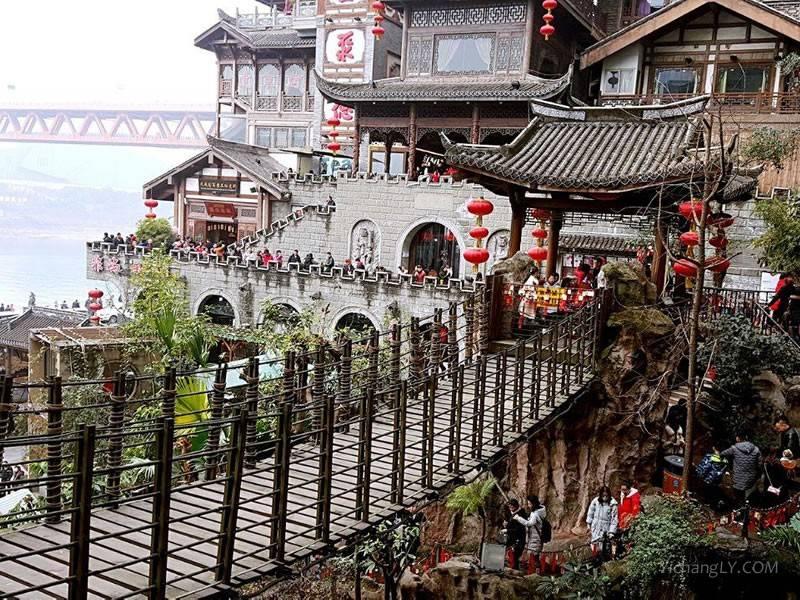 重庆洪崖洞景点图片真实照