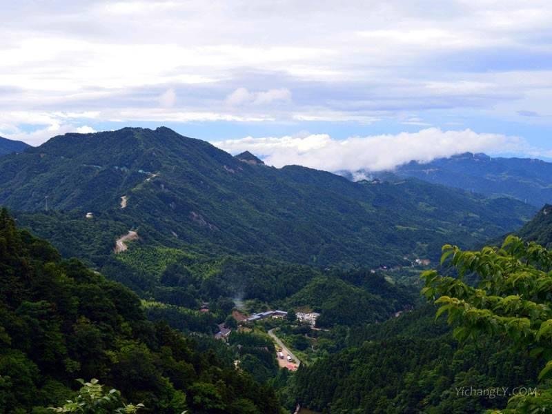 大别山旅游风景图片